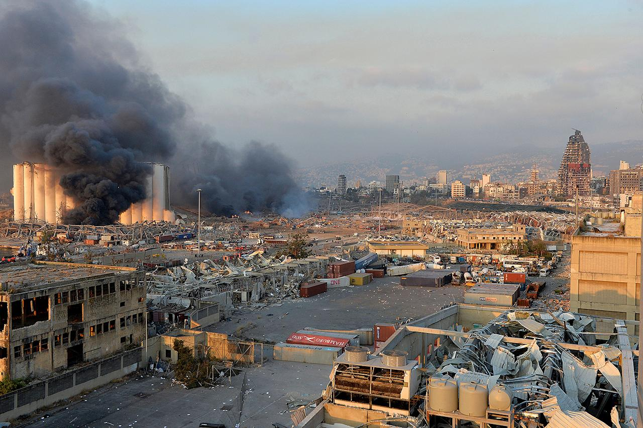 """<p>In the midst of fighting a pandemic, economic and political unrest and facing a potential famine, Lebanon was <a href=""""https://people.com/human-interest/beirut-massive-explosion-leaves-at-least-50-people-dead-thousands-injured-in-lebanon/"""">rocked by a massive explosion</a> in the capital city of Beirut on Aug. 4.</p>"""