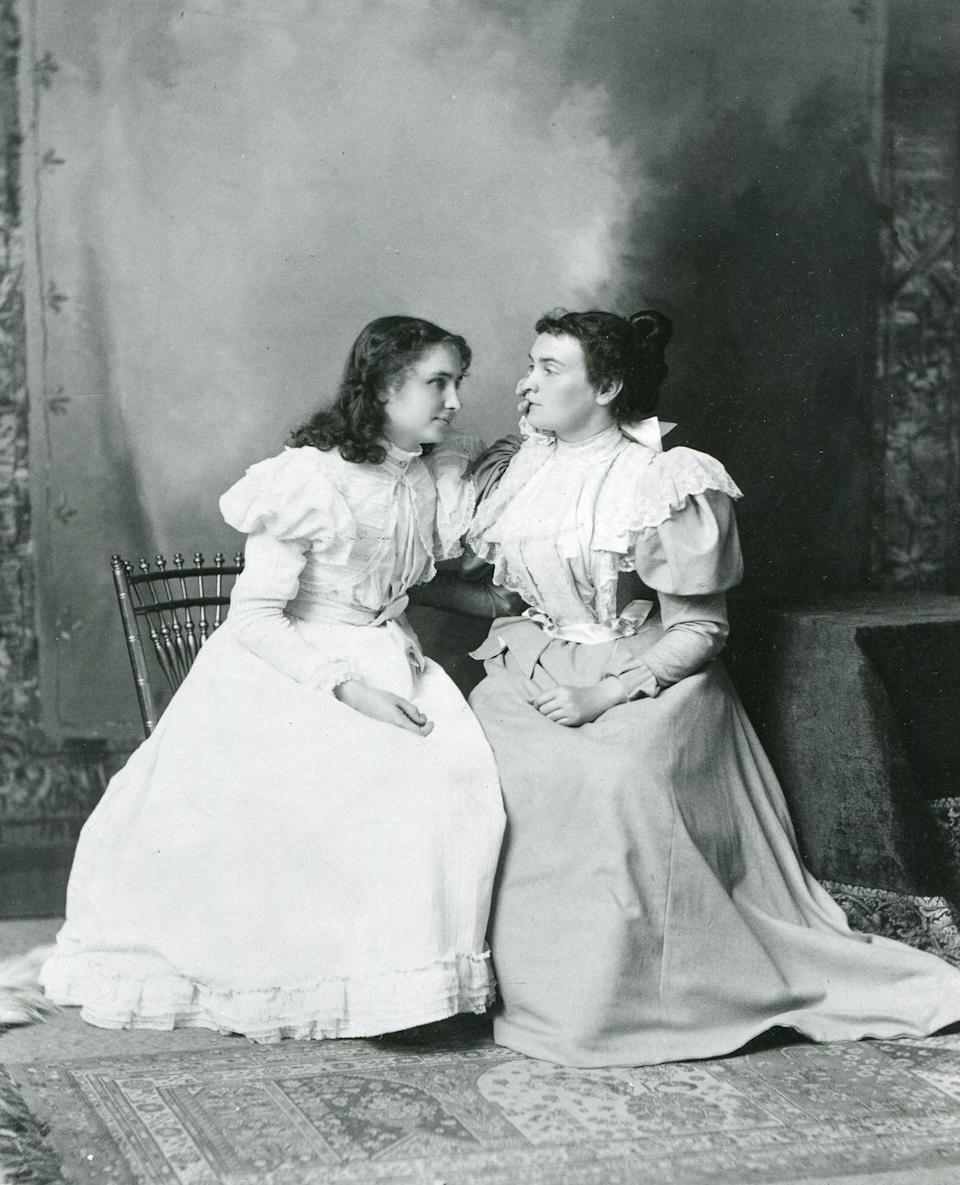 """<p>Robert, James, and John were the most popular boys names — and prevalent girls' picks were still Mary, Betty, and Barbara. But Helen remained in the top 10, possibly spurred by the renown of women like Helen Keller, who was active politically and culturally at the time. In May of that year, Americans learned that students in German universities planned to burn a long list of books deemed """"un-German"""" — and Keller's essay """"How I Became a Socialist"""" was on this list. In response, Keller penned a popular letter (the 1933 equivalent of a viral blog post) letting the students know exactly how she felt. </p>"""