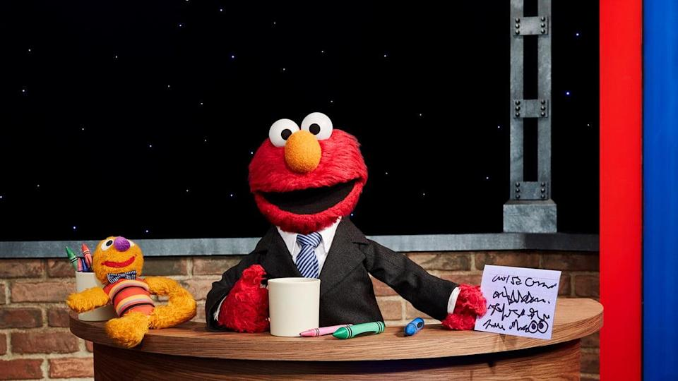 The Not Too Late Show With Elmo on HBO Max