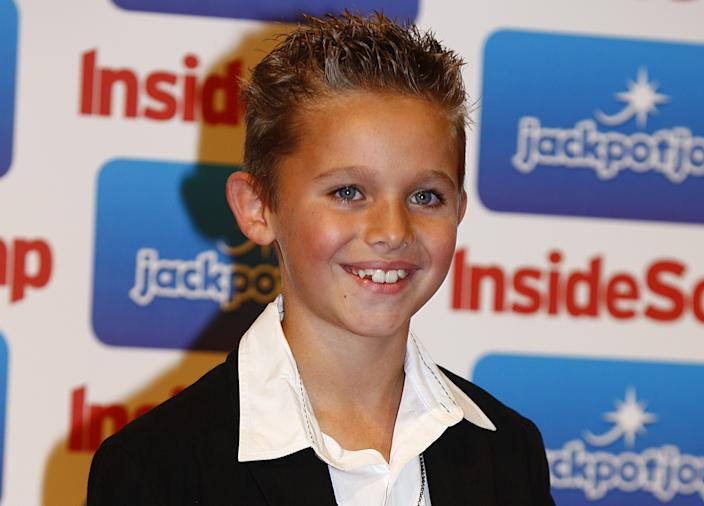 Joe-Warren Plant joined Emmerdale as Jacob Gallagher when he was just eight. (Getty Images)