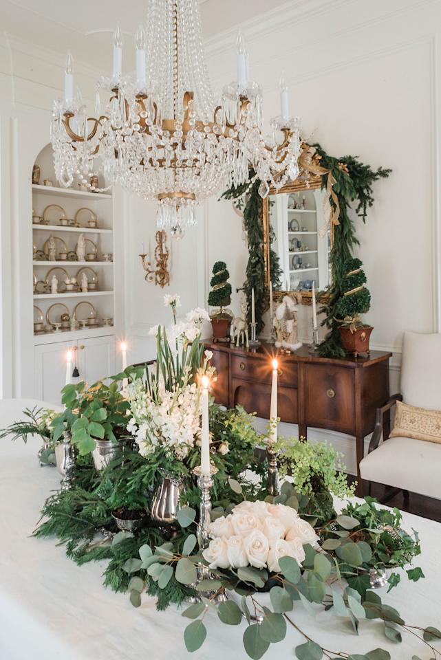 "<p>Whether it's a color scheme, a seasonal fruit, or even a holiday song, choosing one design element to lead the rest will create cohesion throughout your event, explains Kristine Cooke, owner, event planner, and designer at <a href=""https://www.simplycharmingsocials.com/"">Simply Charming Socials.</a> ""For example, if cranberry is your common thread, choose floating cranberries and candles on your tablescape, a cranberry spritzer cocktail upon guest arrival, and a goat cheese and <a href=""https://www.marthastewart.com/345353/cranberry-tartlets"">cranberry tartlet for dessert</a>,"" she says. ""Nothing has to be too matchy-matchy, but if you have two or three nods to your theme, it will look so thoughtful to your guests.""</p>"