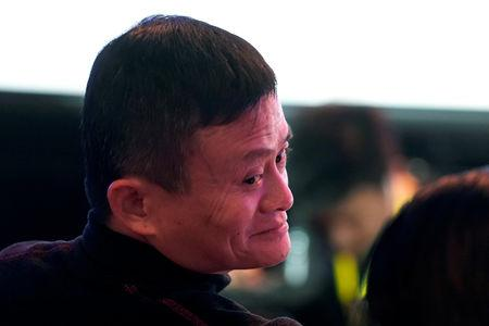 Alibaba Group co-founder and Executive Chairman Jack Ma attends Alibaba Group's 11.11 Singles' Day global shopping festival in Shanghai, China, November 12, 2018. REUTERS/Aly Song