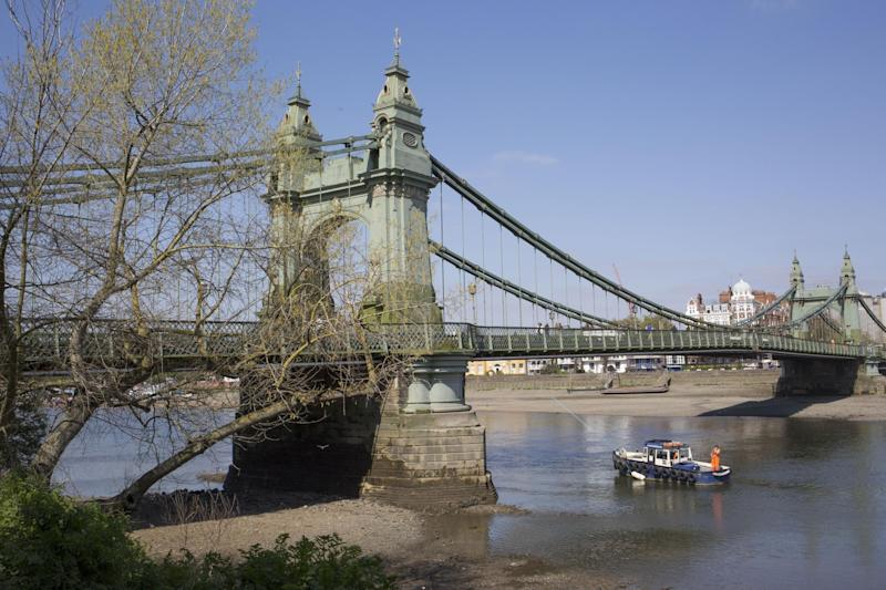Relatable: Hammersmith Bridge (Photo: Richard Baker / In Pictures via Gety Images): In Pictures via Getty Images