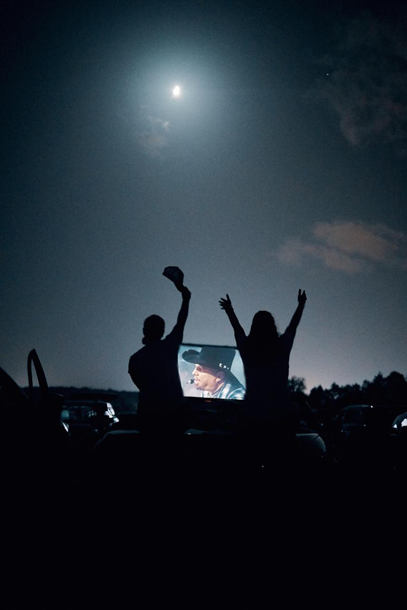On June 27th, Encore Live produced Garth Brooks drive-in concert, held at 300 drive-in theaters across North America.