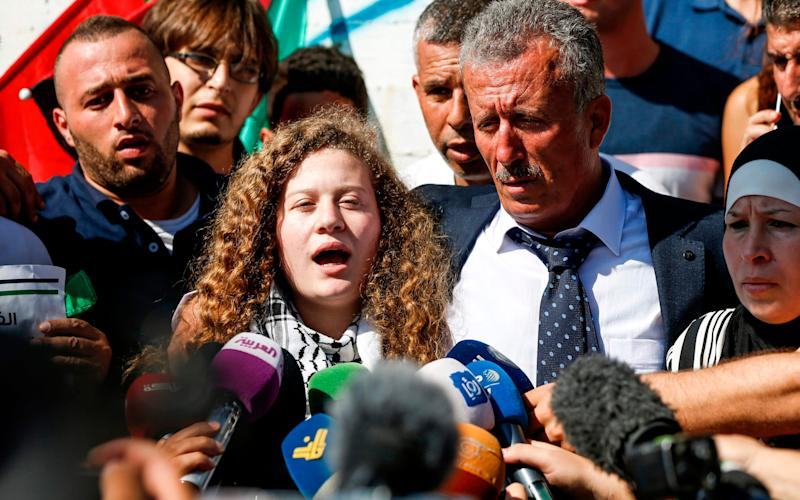 Ahed Tamimi, 17 - AFP or licensors
