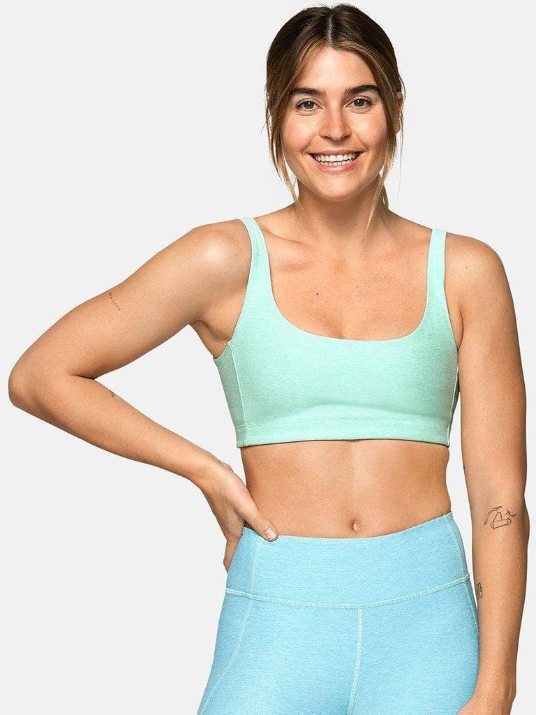 "<p>This <a href=""https://www.popsugar.com/buy/Outdoor-Voices-Double-Time-Bra-445156?p_name=Outdoor%20Voices%20Double-Time%20Bra&retailer=outdoorvoices.com&pid=445156&price=45&evar1=fit%3Auk&evar9=46472938&evar98=https%3A%2F%2Fwww.popsugar.com%2Ffitness%2Fphoto-gallery%2F46472938%2Fimage%2F46473376%2FOutdoor-Voices-Double-Time-Bra&list1=shopping%2Cworkout%20clothes%2Cfitness%20gear%2Cproducts%20under%20%2450%2C50%20under%20%2450%2Cfitness%20shopping%2Caffordable%20shopping&prop13=api&pdata=1"" class=""link rapid-noclick-resp"" rel=""nofollow noopener"" target=""_blank"" data-ylk=""slk:Outdoor Voices Double-Time Bra"">Outdoor Voices Double-Time Bra</a> ($45) is supportive, stylish, and in the cutest colors.</p>"