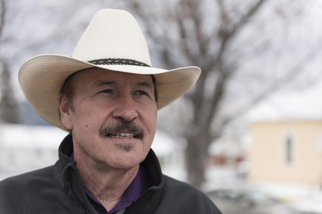 Democrat Rob Quist campaigning in Livingston, Mont., in March (Photo: William Campbell/Corbis via Getty Images)