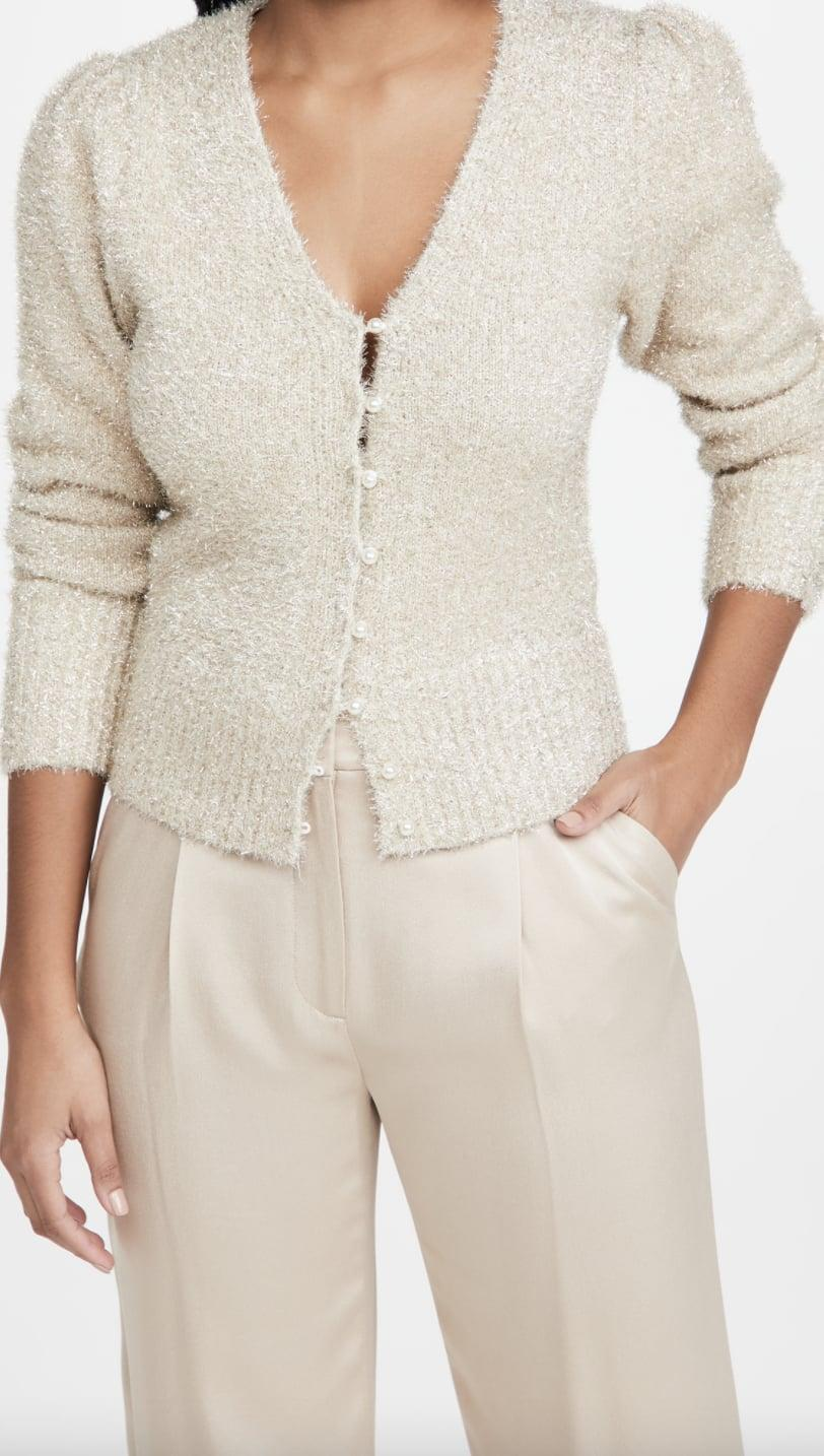 <p>This <span>ASTR the Label Cecilia Cardigan</span> ($39, originally $98) looks chic and festive.</p>