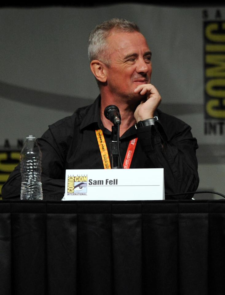 "SAN DIEGO, CA - JULY 13:  Director Sam Fell speaks at the ""Paranorman: Behind The Scenes"" panel during Comic-Con International 2012 at San Diego Convention Center on July 13, 2012 in San Diego, California.  (Photo by Kevin Winter/Getty Images)"