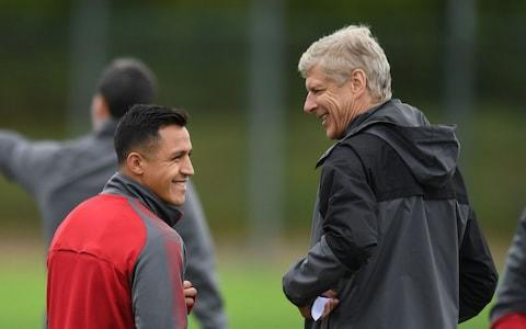 <span>Arsene Wenger has said he is prepared to allow Alexis Sanchez to leave for free next year</span> <span>Credit: Getty Images </span>