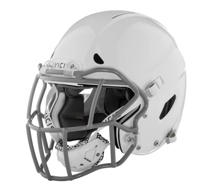 """<p><strong>Vicis</strong></p><p>dickssportinggoods.com</p><p><strong>$495.99</strong></p><p><a href=""""https://go.redirectingat.com?id=74968X1596630&url=https%3A%2F%2Fwww.dickssportinggoods.com%2Fp%2Fvicis-zero1-youth-football-helmet-19nlnyzr1ythhlmtwfta%2F19nlnyzr1ythhlmtwfta&sref=https%3A%2F%2Fwww.popularmechanics.com%2Fadventure%2Fsports%2Fg37133542%2Fyouth-football-helmets-and-accessories%2F"""" rel=""""nofollow noopener"""" target=""""_blank"""" data-ylk=""""slk:Shop Now"""" class=""""link rapid-noclick-resp"""">Shop Now</a></p><p>Vicis makes several sought after football helmets for players of all ages, and this Zero1 consistently ranks high, featuring four layers of protection. (Its price tag doesn't deter buyers either, as the helmet can be tough to find in stock.) The helmet has a deformable outer shell made of soft thermoplastic and a second layer's column construction moves in all directions upon impact to reduce rotational and linear forces. </p><p>A thin third layer ensures a proper fit and connects to the final layer of waterproof memory foam for comfort and weight distribution. Overall, it offers advanced technology and high marks across the board, though it does weigh 4 pounds, which may be too heavy for very young players. </p>"""