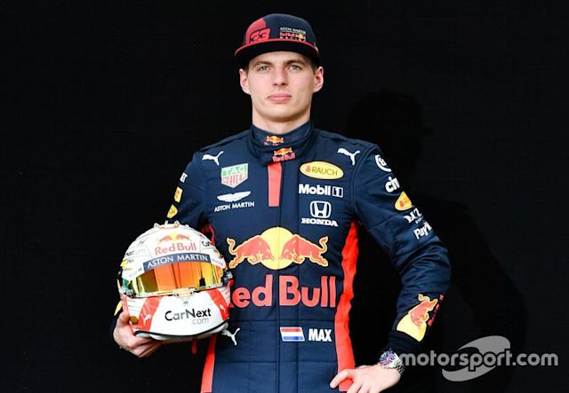 "#33: Max Verstappen (Red-Bull-Honda) <span class=""copyright"">Mark Sutton / Motorsport Images</span>"