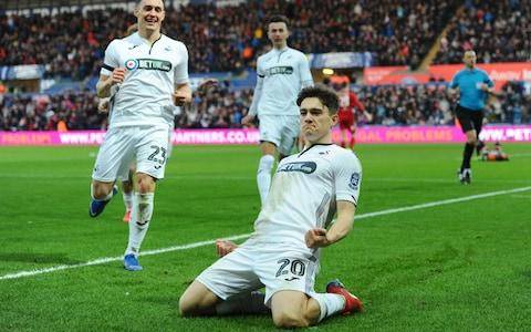 <span>Daniel James looks to be on his way to Old Trafford</span> <span>Credit: getty images </span>