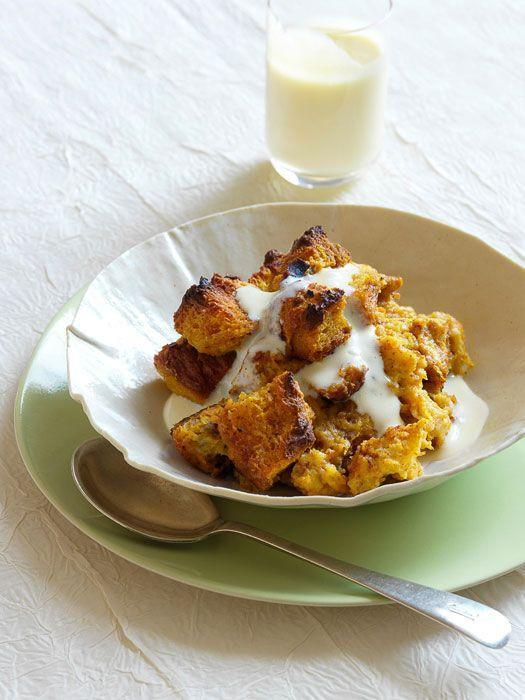"<p>Pair challah pumpkin bread pudding with a vanilla-rum custard sauce and you've got a decadent Thanksgiving dessert no one will soon forget.</p><p><strong><em><a href=""https://www.womansday.com/food-recipes/food-drinks/recipes/a27454/pumpkin-bread-pudding-vanilla-custard-recipe/"" rel=""nofollow noopener"" target=""_blank"" data-ylk=""slk:Get the Pumpkin Bread Pudding with Vanilla-Rum Custard Sauce recipe."" class=""link rapid-noclick-resp"">Get the Pumpkin Bread Pudding with Vanilla-Rum Custard Sauce recipe. </a></em></strong></p>"