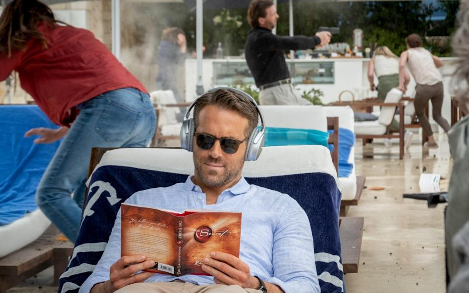 Ryan Reynolds is the only man sitting comfortably in The Hitman's Wife's Bodyguard - David Appleby