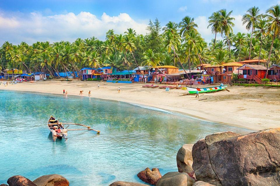 "<p>Goa in India made the <a href=""https://www.mirror.co.uk/travel/asia-middle-east/best-value-honeymoon-destination-revealed-17273074"" rel=""nofollow noopener"" target=""_blank"" data-ylk=""slk:top 20"" class=""link rapid-noclick-resp"">top 20</a> best value honeymoon destinations, with many citing anytime between October & April as the best time to go. Goa has luxury resorts and sandy beaches; markets and restaurants; activities and places to chill out, meaning you can make your honeymoon suit you. </p>"
