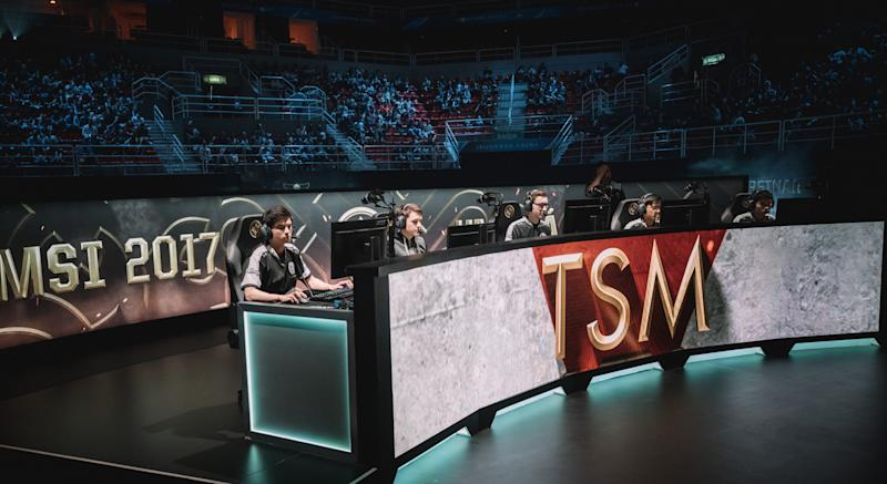 TSM just barely managed to beat G2 at MSI 2017 (Lolesports/Riot Games)