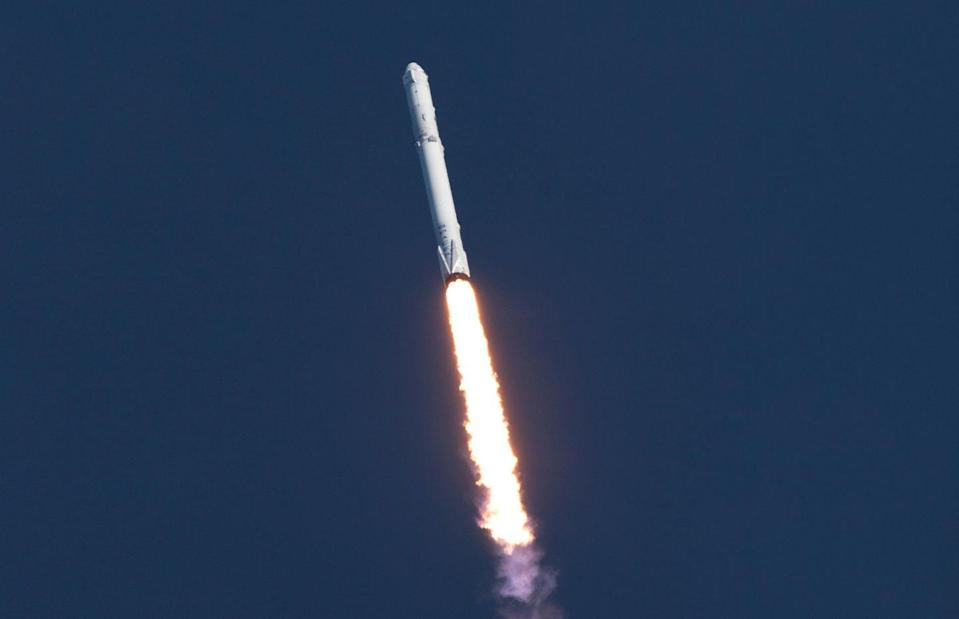 """<p>In December 2015, SpaceX successfully landed<a href=""""https://www.popularmechanics.com/space/rockets/a13927/space-reusable-falcon-9-diagram/"""" rel=""""nofollow noopener"""" target=""""_blank"""" data-ylk=""""slk:its Falcon 9 first stage"""" class=""""link rapid-noclick-resp""""> its Falcon 9 first stage</a> back on Earth. The landing launched a new era in spaceflight, one that made the goal of reaching orbit a cheaper, sustainable effort accessible to the masses. Looking back, it's incredible to see <a href=""""https://www.popularmechanics.com/space/rockets/g32758515/falcon-9-anniversary/"""" rel=""""nofollow noopener"""" target=""""_blank"""" data-ylk=""""slk:how far the industry has come"""" class=""""link rapid-noclick-resp"""">how far the industry has come</a>. On March 14, 2021, SpaceX launched <a href=""""https://spaceflightnow.com/2021/03/14/spacex-extends-its-own-rocket-reuse-record-on-starlink-launch/"""" rel=""""nofollow noopener"""" target=""""_blank"""" data-ylk=""""slk:a Falcon 9 first stage for the ninth time"""" class=""""link rapid-noclick-resp"""">a Falcon 9 first stage for the ninth time</a>, setting a record that would have seemed inconceivable decades ago. </p>"""