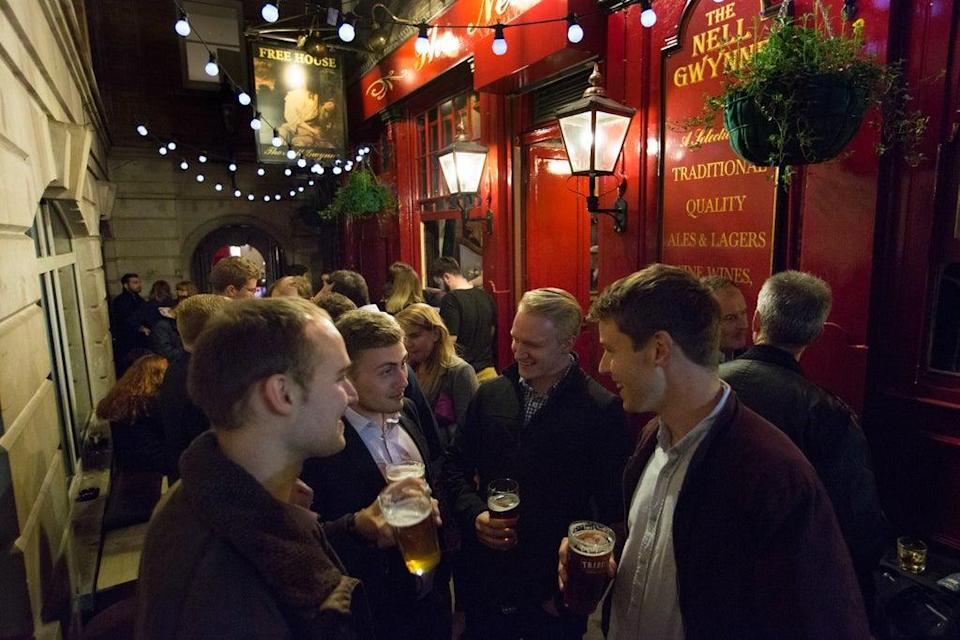The Nell Gwynne Tavern in Covent Garden, one of City Pub Group's locations (City Pub Group/PA)