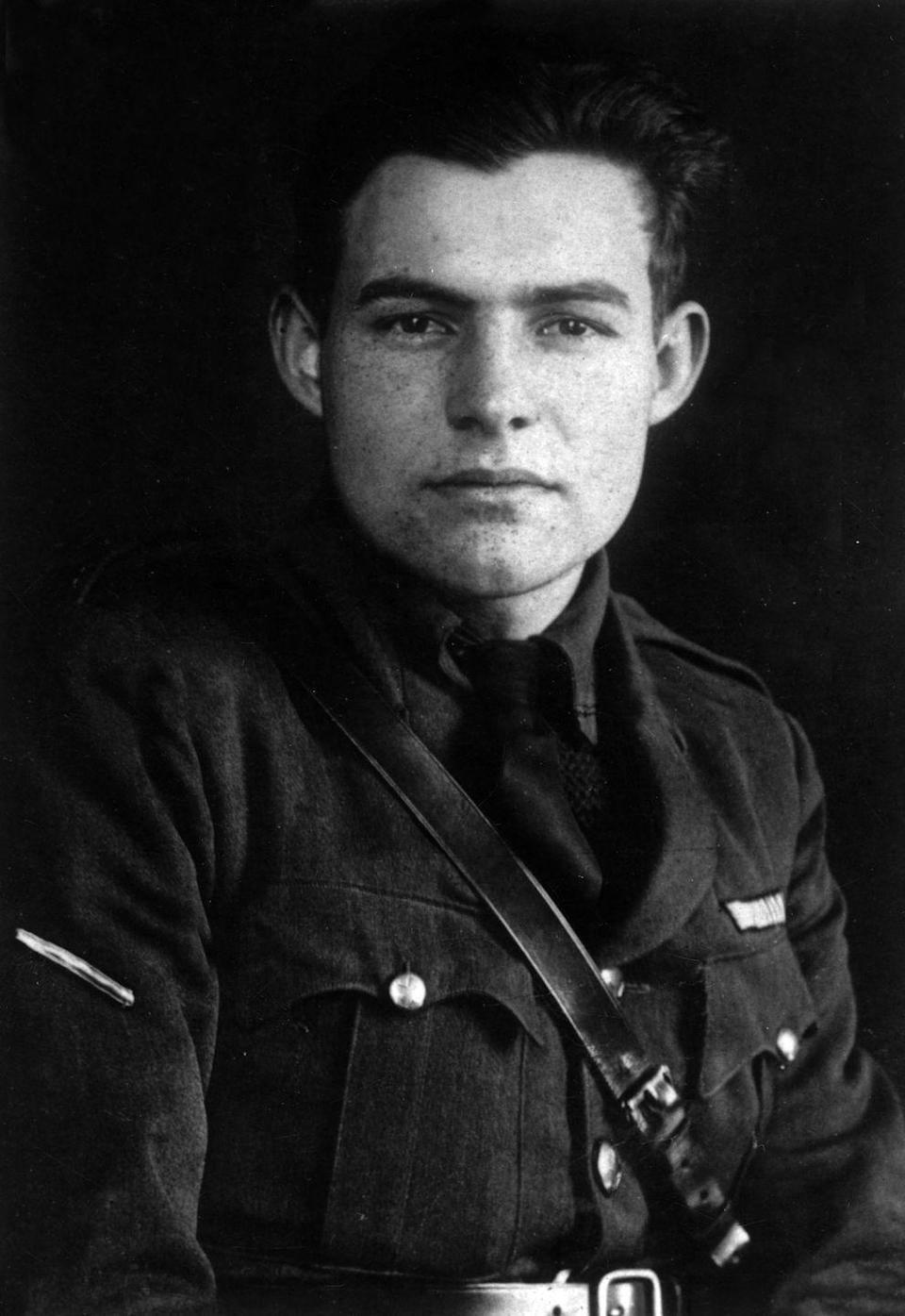 <p>As World War I raged, Ernest Hemingway joined the Red Cross. The day he arrived, a munitions factory exploded and he had to carry mutilated bodies to a makeshift morgue; the horrors of war inspired many of his later novels. His name was number 37 that year. John, William, and James continued their streak — as did Mary, Helen, and Dorothy.</p>