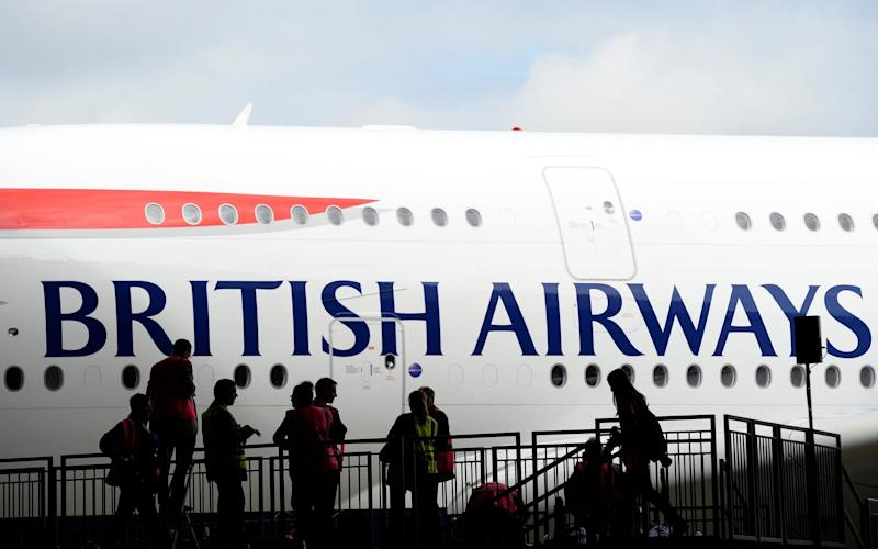 British Airways has incurred the wrath of the Egyptian authorities for its decision to suspend flights to Cairo for a week. - Reuters