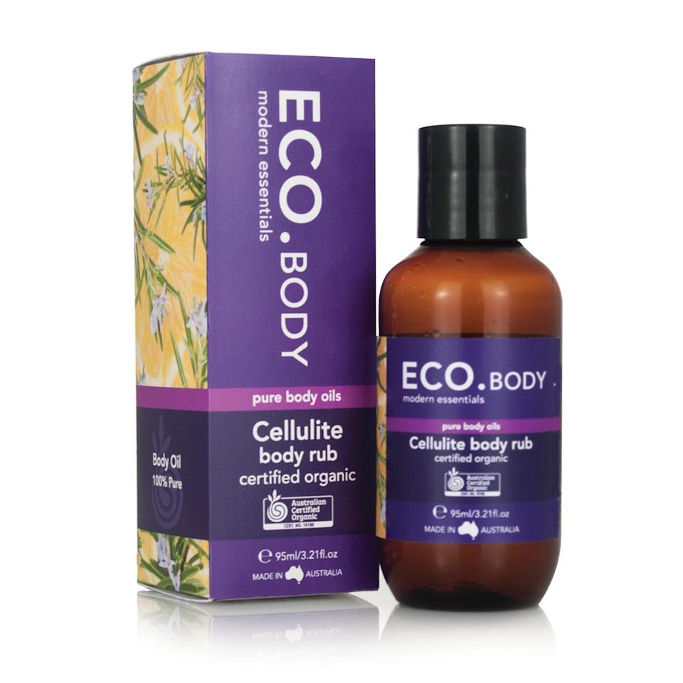 <p>This cool and affordable Australian line is based in essential oils, but ranges from body lotions to face care. It's also organic and boasts the use of ingredients like almond oil, rose hip, and tea tree. (Photo: Eco. Modern)</p>