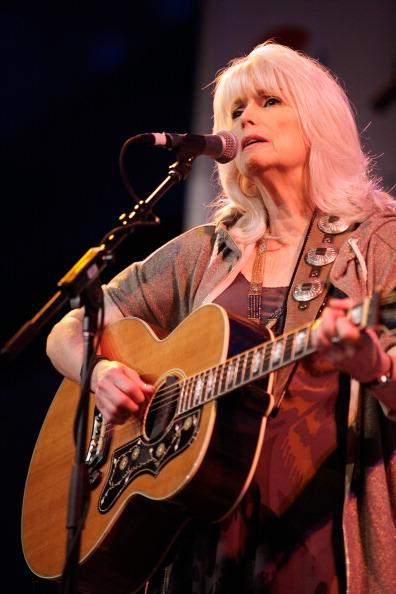 Musician Emmylou Harris performs onstage at Radio Day Stage during the 2013 SXSW Music, Film + Interactive Festival at Austin Convention Center on March 15, 2013 in Austin, Texas.