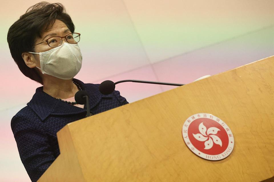 Chief Executive Carrie Lam. Photo: K.Y. Cheng