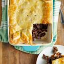"""<p>For the ultimate pie you need a good beef stock, flavoured with Worcestershire sauce, and some plain flour to thicken it up. Some people use stout or ale, but we've omitted this as we think it tastes great without. </p><p>Get the <a href=""""https://www.delish.com/uk/cooking/recipes/a30148153/steak-and-kidney-pie/"""" rel=""""nofollow noopener"""" target=""""_blank"""" data-ylk=""""slk:Steak And Kidney Pie"""" class=""""link rapid-noclick-resp"""">Steak And Kidney Pie</a> recipe. </p>"""