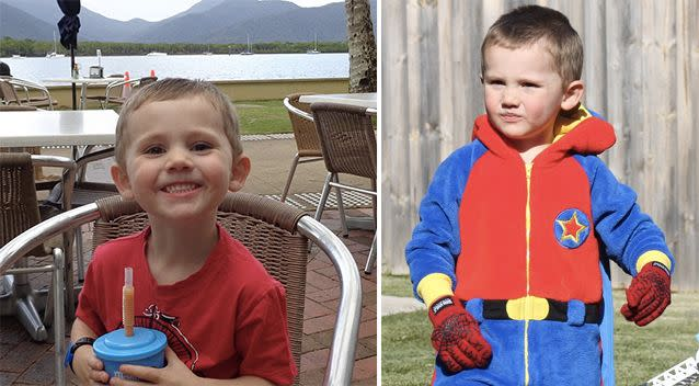 William Tyrrell was four years old when he disappeared from the front yard of his foster grandmother's home in 2014. Source: NSW Police