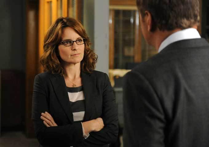 "Tina Fey in ""30 Rock."""