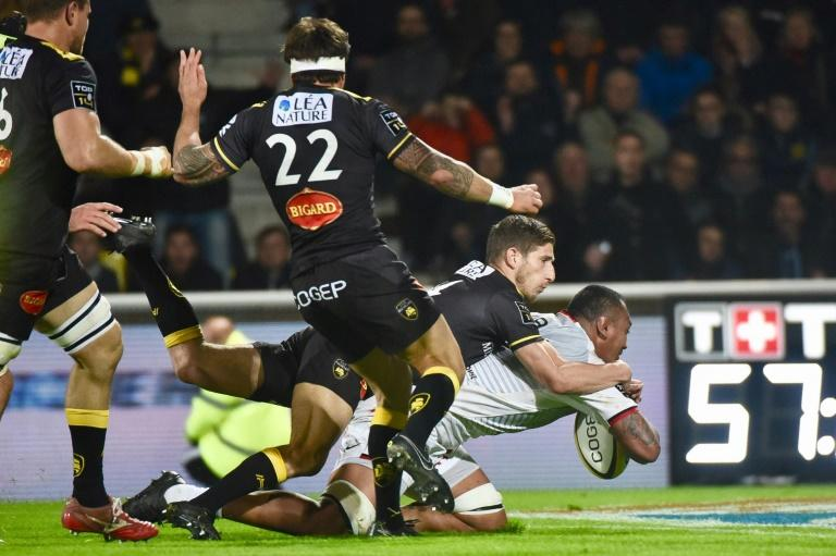 Piula Faasalele's try gave Toulouse a winning position