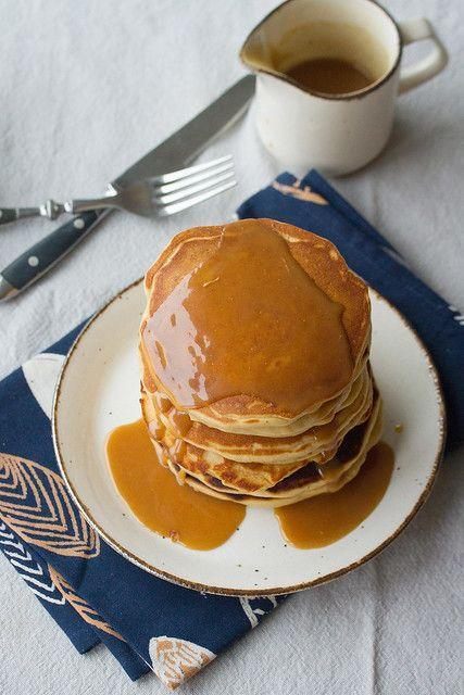 """<p>Give breakfast a nutty twist by topping it with your favorite peanut butter. Both creamy and crunchy peanut butters would taste great! </p><p><strong>Get the recipe from <a href=""""https://www.crumbblog.com/peanut-butter-pancakes/"""" rel=""""nofollow noopener"""" target=""""_blank"""" data-ylk=""""slk:Crumb Blog"""" class=""""link rapid-noclick-resp"""">Crumb Blog</a>. </strong></p><p><a class=""""link rapid-noclick-resp"""" href=""""https://go.redirectingat.com?id=74968X1596630&url=https%3A%2F%2Fwww.walmart.com%2Fbrowse%2Fcondiments%2Fnut-butters-spreads%2F976759_976794_7981173_3642122&sref=https%3A%2F%2Fwww.thepioneerwoman.com%2Ffood-cooking%2Fmeals-menus%2Fg36146701%2Fbest-pancake-toppings%2F"""" rel=""""nofollow noopener"""" target=""""_blank"""" data-ylk=""""slk:SHOP NUT BUTTERS"""">SHOP NUT BUTTERS</a></p>"""