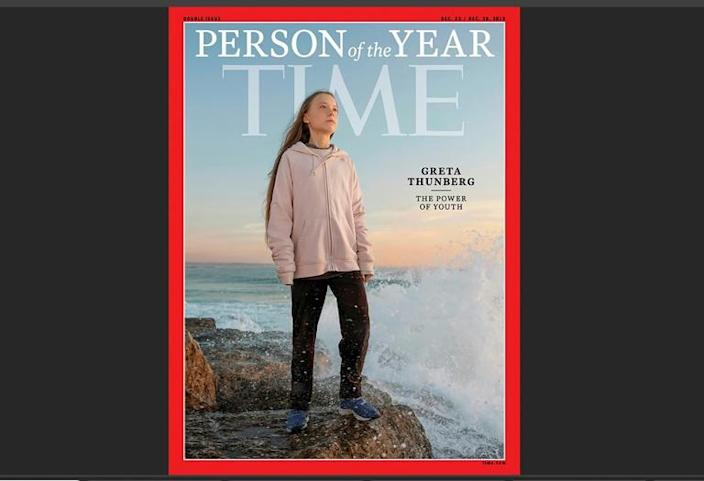 Named Time magazine's person of the year, Greta Thunberg first made headlines with her solo strike against global warming outside Sweden's parliament in August 2018 (AFP Photo/Evgenia ARBUGAEVA)