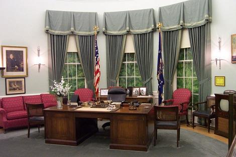 The Truman Library has this recreation of Truman's Oval Office. (Photo: The Truman Library via whitehousemuseum.org)