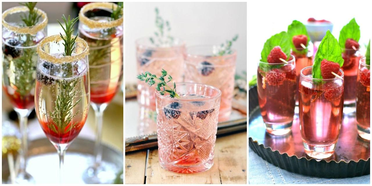 <p>Ring in the new year with these fancy (yet easy-to-make) cocktail recipes. </p>