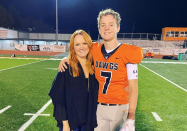 """<p>Ree Drummond is blessed with not one, not two, but <em>three </em>sons. There's Bryce, age 18, a star on the football field. Then there's Todd, 17, the """"baby"""" of the bunch who still manages to tower over the rest of the Drummond crew. And Jamar, 18, is Ree's """"bodacious, bright, brilliant"""" foster son. So it only makes sense that she, like so many other moms, is prone to feeling a little sentimental around <a href=""""https://www.thepioneerwoman.com/holidays-celebrations/a35452325/when-is-mothers-day/"""" rel=""""nofollow noopener"""" target=""""_blank"""" data-ylk=""""slk:Mother's Day"""" class=""""link rapid-noclick-resp"""">Mother's Day</a>. After all, there are few more sacred bonds than that of mother and son (except for <a href=""""https://www.thepioneerwoman.com/home-lifestyle/g35713338/mother-daughter-quotes/"""" rel=""""nofollow noopener"""" target=""""_blank"""" data-ylk=""""slk:mother and daughter"""" class=""""link rapid-noclick-resp"""">mother and daughter</a>, of course!).</p><p>Well, weepy moms, you're in the right place: This list of mother-son quotes is here to help turn your sentimentality into pure poetry. Just take this beautiful Abraham Lincoln quote, for example: """"All that I am, or hope to be, I owe to my angel mother."""" </p><p>Whether you're looking for a sweet Instagram caption to tell the world how lucky you feel to be the mom of boys or simply want to read through some sweet sayings in advance of that Sunday in May, you're bound to find something here that fits the bill. In fact, some of these quotes are so good, they practically double as <a href=""""https://www.thepioneerwoman.com/holidays-celebrations/gifts/g33985357/best-gifts-for-mom/"""" rel=""""nofollow noopener"""" target=""""_blank"""" data-ylk=""""slk:Mother's Day gifts"""" class=""""link rapid-noclick-resp"""">Mother's Day gifts</a> in their own right!</p><p>Now, to get the boys to prepare you a fabulous <a href=""""https://www.thepioneerwoman.com/food-cooking/meals-menus/g35549541/mothers-day-brunch/"""" rel=""""nofollow noopener"""" target=""""_blank"""" data-ylk=""""slk:Mother's Day br"""