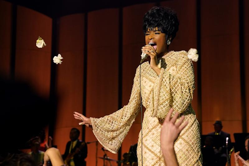 "Jennifer Hudson stars as Aretha Franklin in ""Respect."""