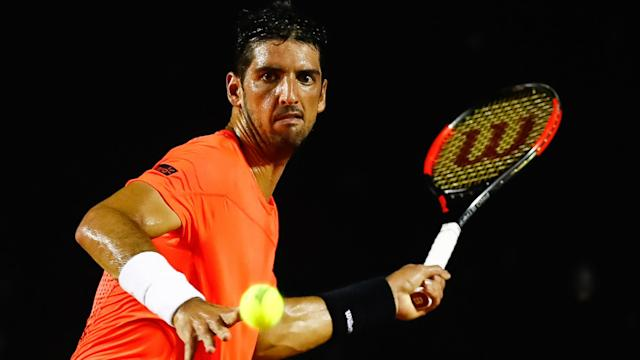 As three wildcards fell in the Argentina Open first round, Thomaz Bellucci and Guillermo Garcia-Lopez progressed.