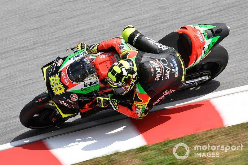 "2019: Andrea Iannone (Aprilia RS-GP)<span class=""copyright"">Gold and Goose / Motorsport Images</span>"