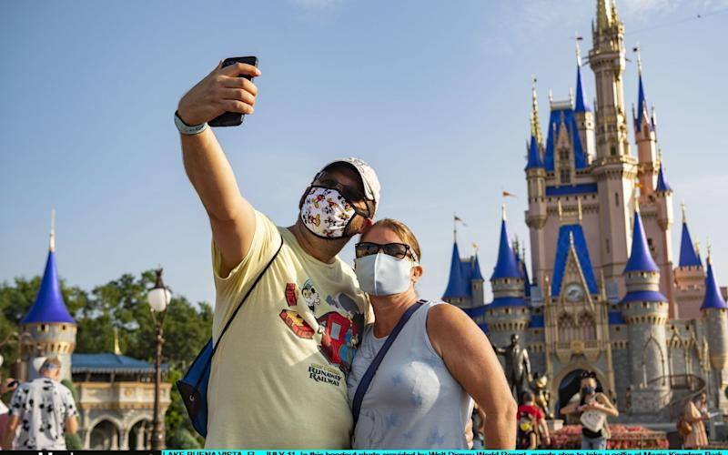 Magic Kingdom reopened to visitors on Saturday - Getty
