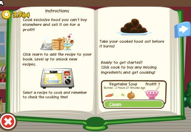 pet society launches a new cooking mini game