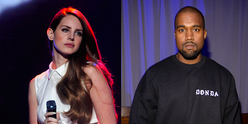 Lana Del Rey Stepped Into Kanye Wests Instagram Comments To Call