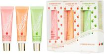 <p>You can use the <span>Lano 101 Ointment Fruities Trio</span> ($39) to hydrate your lips, cuticles, and any other dry patches. </p>