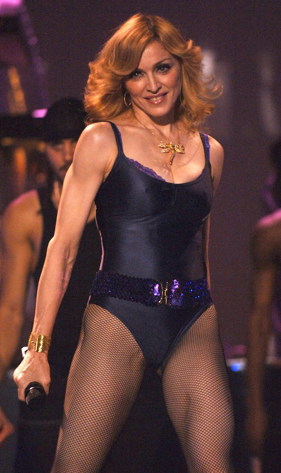 The age-shamers were out in force when Madonna dared to don a leotard aged 47 [Photo: Getty]