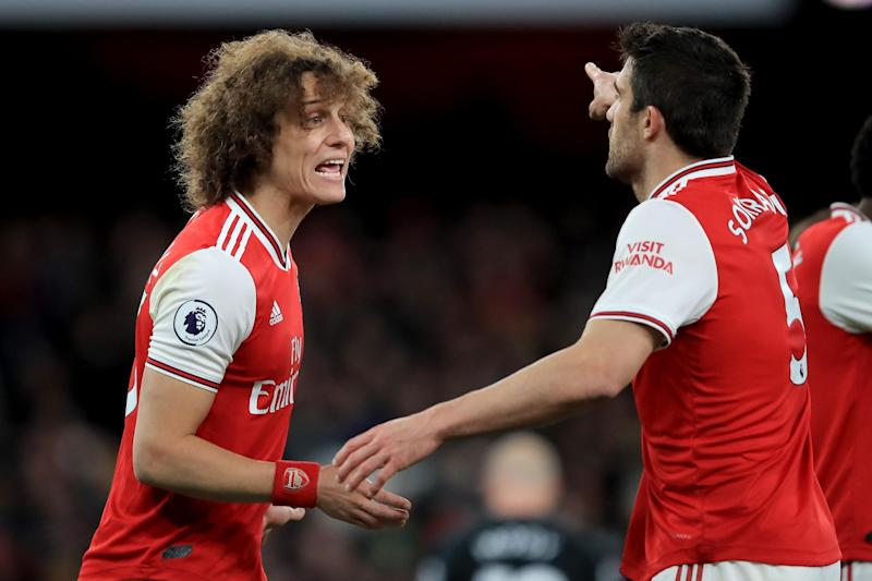 Sokratis expected to come in for the suspended Luiz: Getty Images