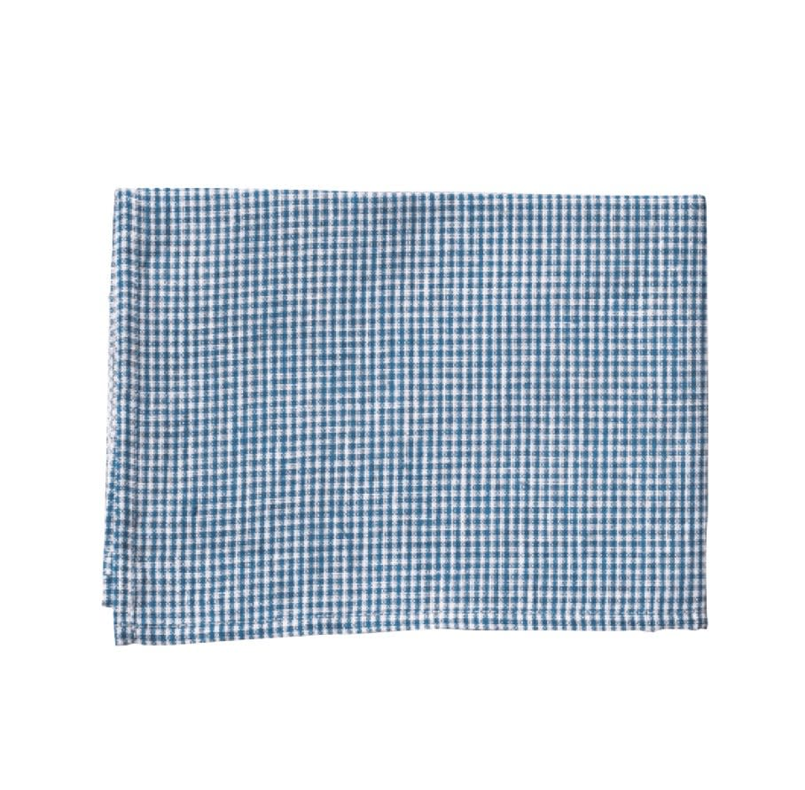 """<a rel=""""nofollow noopener"""" href=""""https://www.shop-foglinen.com/products/kitchen-cloth-blue-plaid"""" target=""""_blank"""" data-ylk=""""slk:Kitchen Cloth"""" class=""""link rapid-noclick-resp""""><i><span>Kitchen Cloth</span></i></a><i><span>, $15</span></i> <span>To clean your counters and dry your hands, forego using paper goods for a clean, beautiful linen towel. Buy a stack of them. Keep them in rotation and wash them as needed with the rest of your laundry. They will add a negligible amount to the washing but will help divert much paper towel waste. If you're ready to take it a step further, eliminate paper towels entirely from daily use by replacing them with cloth napkins and towels. Save paper for the truly terrible messes that no self-respecting linen towel could brave. </span>"""
