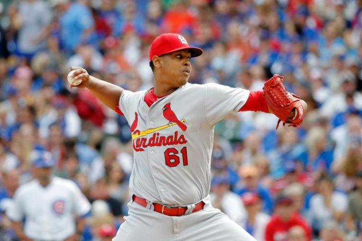 Alex Reyes needed an MRI on the first day of camp. (Getty Images/Jon Durr)