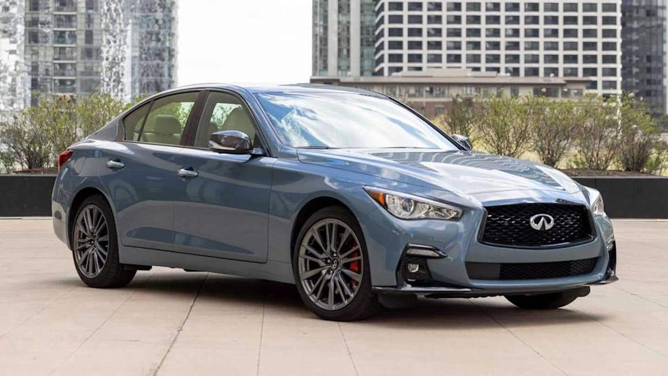 2022 INFINITI Q50, with a bevy of equipment, breaks cover