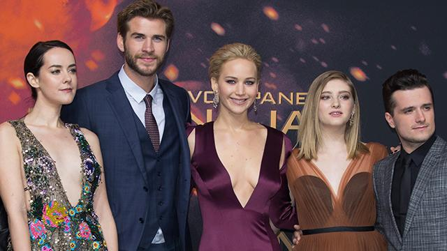 It feels the Hunger Games cast has been promoting the franchise for half  their lives. In actuality fdf360939
